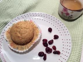 muffins d'hiver aux canneberges... et aux légumes cachés!