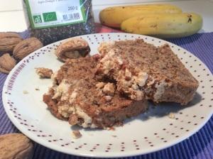 banana nut bread (gâteau à la banane)